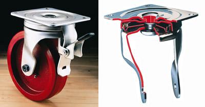 Flexello 55 Series Swivel Caster with Total Lock Brake