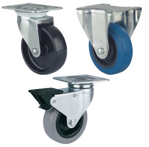 Sovereign Series Medium-Duty Casters for Manual Propulsion
